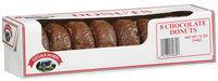 Cottage Hearth Chocolate Donuts 8 Ct Box