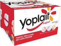 Yoplait® Original Strawberry/Mountain Blueberry/Harvest Peach Low Fat Yogurt Variety Pack