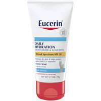 Eucerin® Daily Hydration Moisturizer & Sunscreen Broad Spectrum SPF 30 Hand Creme 2.7 oz. Tube