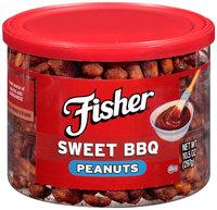 Fisher® Sweet BBQ Peanuts 10.5 oz. Can