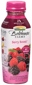 Bolthouse Farms® Berry Boost™ 100% Fruit Juice Smoothie + Boosts 11 fl. oz. Bottle