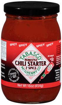 McIlhenny Co. Tabasco® Spicy 7 Spice Chili Starter 16 oz. Jar