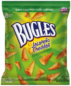 Bugles® Jalapeno Cheddar Crispy Corn Snacks 14.5 oz. Bag