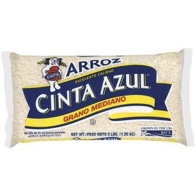 Cinta Azul Medium Grain Enriched Rice