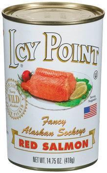 Icy Point Fancy Alaskan Sockeye Red Salmon 14.75 Oz Can