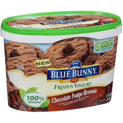 Blue Bunny® Chocolate Fudge Brownie Frozen Yogurt 1.75 qt. Tub