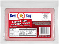Best Buy Cooked Ham and Water Product