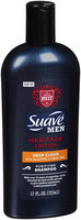 Suave® Men Heritage Edition™ Deep Clean Shampoo 12 fl. oz. Squeeze Bottle