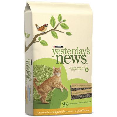 Purina Yesterday's News Unscented Original Texture Cat Litter 30 lb. Bag
