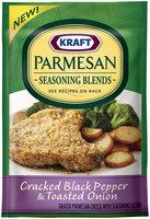 Kraft Cracked Black Pepper & Toasted Onion Parmesan Seasoning Blend 2 oz Packet