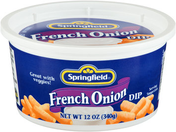Springfield® French Onion Dip 12 oz. Tub