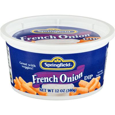 Springfield® French Onion Dip 12 oz. Tub