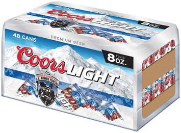 Coors Light Premium Beer 384 fl. oz. 48 pk. Box