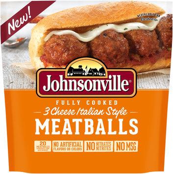 Johnsonville® Fully Cooked 3 Cheese Italian Style Meatballs