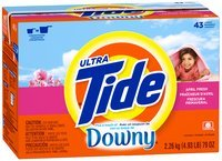 Tide Ultra Plus Touch of Downy April Fresh Scent Powder Laundry Detergent 79 oz. Box
