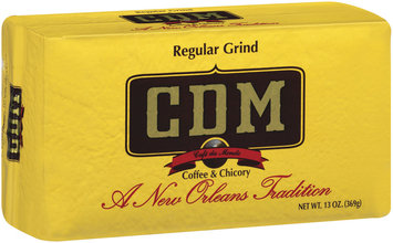CDM & Chicory Regular Grind Ground Coffee 13 Oz Vac Bag