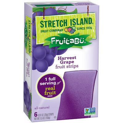 Fruitabu® Harvest Grape Fruit Strips 6 ct Box