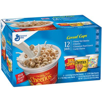 Lucky Charms™ Honey Nut Cherrios/Cherrios/Cinnamon Toast Crunch Cereal Variety