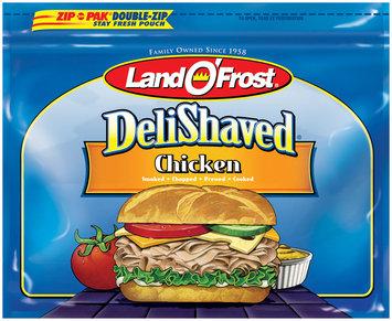 Land O' Frost Deli Shaved Chicken 10 oz Zip Pak