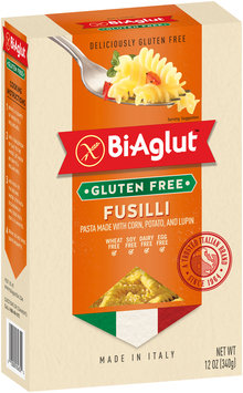 BiAglut™ Fusilli Pasta made with Corn, Potato, and Lupin 12 oz. Box