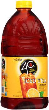 4C® Lemon Iced Tea 64 fl. oz. Bottle
