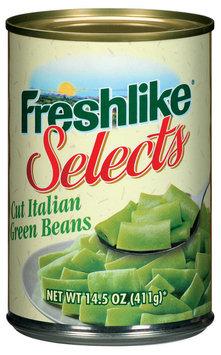 Freshlike Selects Cut Italian Green Beans 14.5 Oz Can