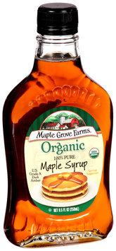 Maple Grove Farms® Organic Maple Syrup Dark Amber