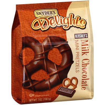 Snyder's-Of-Hanover Delights Hershey's Milk Chocolate Mini Pretzels