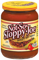 HORMEL Not-So-Sloppy-Joe Sloppy Joe Sauce 14.5 OZ JAR