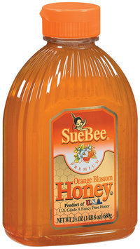 SueBee Orange Blossom Honey 24 Oz Plastic Bottle