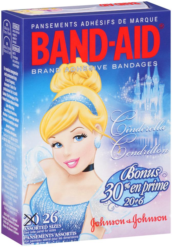 Band-Aid® Disney Princess Assorted Adhesive Bandages