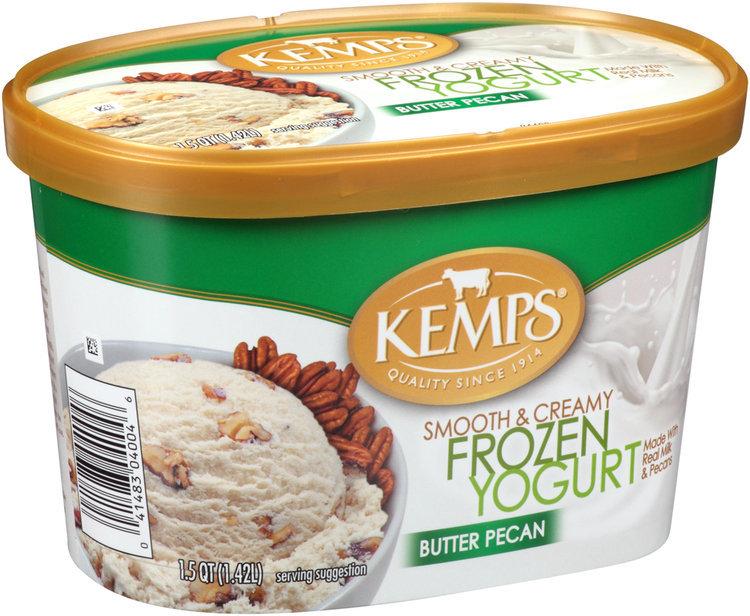 Kemps® Butter Pecan Frozen Yogurt 1.5 qt. Tub