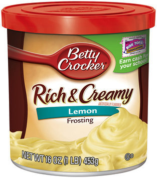 Betty Crocker® Rich & Creamy Lemon Frosting 16 oz. Canister