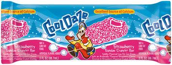 CoolDaze Strawberry Sundae Crunch® Ice Cream Bar 3 fl. oz. Wrapper