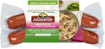 Johnsonville Andouille Chicken Smoked Sausage 12oz sleeve (101918)