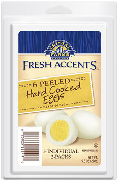 Crystal Farms® Fresh Accents™ Peeled Hard Cooked Eggs 3-2 ct Packs
