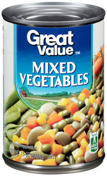 Great Value™ Mixed Vegetables 15 oz. Can