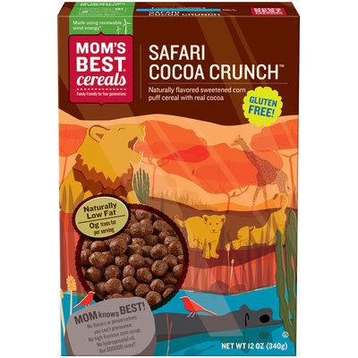 Mom's Best® Cereals Safari Cocoa Crunch™ Cereal 12 oz. Box