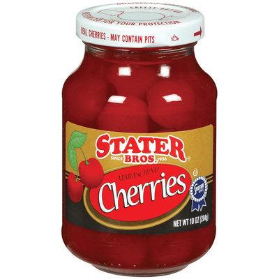 Stater Bros. Maraschino Cherries 10 Oz Jar