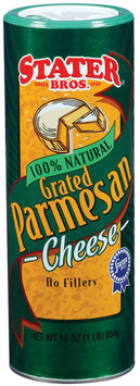 Stater Bros. Parmesan 100% Natural Grated Cheese 16 Oz Shaker
