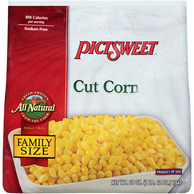 ALL NATURAL Cut Corn 28 OZ STAND UP BAG