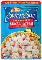 Sweet Sue Premium 98% Fat Free Chicken Breast 7 Oz Pouch