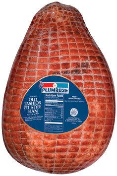 Plumrose Ham Old Fashion Pit Style Smoked Food Service 20 Lb