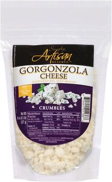 Simply Artisan Reserve™ Gorgonzola Cheese Crumbles 8 oz. Bag
