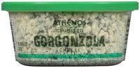 Athenos Crumbled Gorgonzola Cheese 4.5 oz. Tub