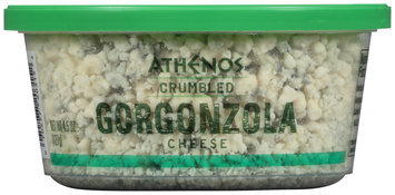 Athenos Crumbled Gorgonzola Cheese 4.5 oz. Tub
