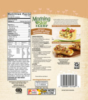 Morning Star Farms® Veggie Sausage and Grain Breakfast Patties 8 oz. Bag