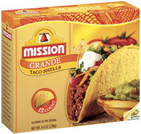 Mission Grande 12 Ct Taco Shells 8.4 Oz Box