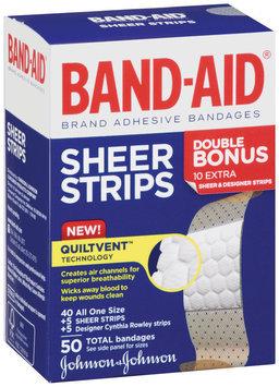 Band-Aid® Sheer Strips