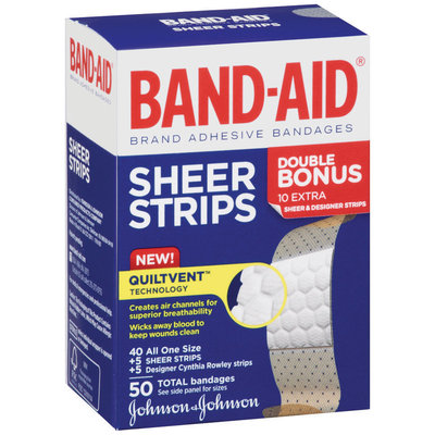 Band-Aid® Sheer Strips
